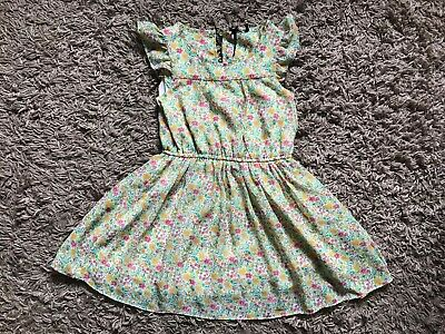 Next Girls Kids Floral Style Dress (Multi Coloured) Age 6 Years