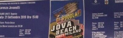 Jova Beach Party Linate - 2 biglietti