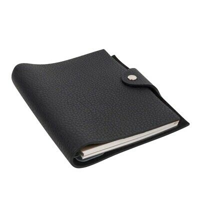 Hermes Ulysse PM Agenda Cover Black Togo with Refill