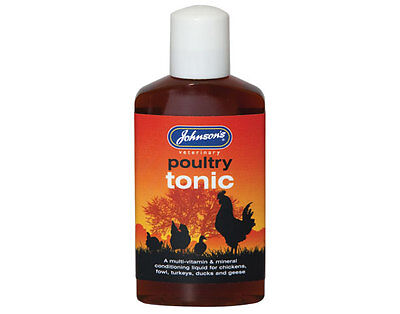Johnsons Poultry Tonic 250ml (dated 02.17)