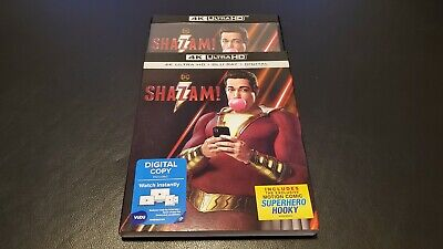 Shazam! 4K Ultra HD Blu-ray + Blu-ray + Digital
