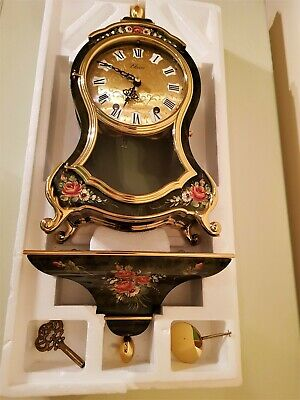 French Style Balloon Cased Bracket / Mantel Clock with Bracket - the 'ELUXA'