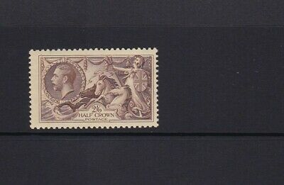 Gb 1934 King George V 2/6 Re-Engraved Seahorse Brown Sg450 Mnh Unmounted Mint