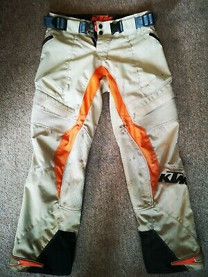 "Ktm Racing 32"" Waist Genuine Rally Pants Off-Road Enduro Adventure Trousers"