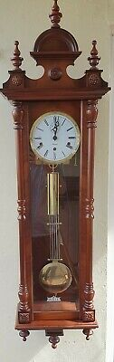 Stunning Vienna Style Westminster Chime Wall Clock