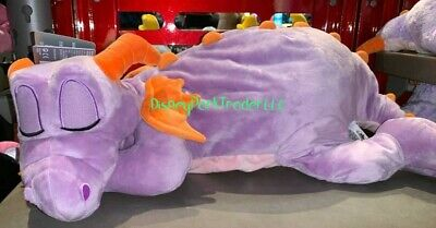 Disney Parks EPCOT Figment Dragon Dream Friend Plush NWT Sleeping New