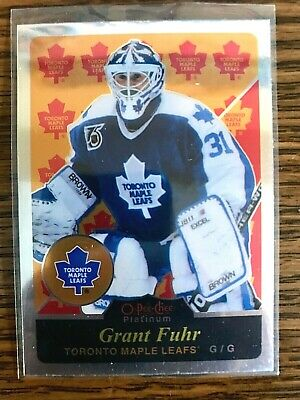 2015-16 OPC Platinum Retro Legend #R20 Grant Fuhr Toronto Maple Leafs
