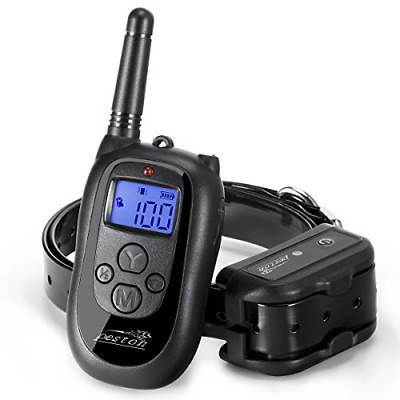 PESTON Remote Dog Training Collar, Rechargeable and 100% Waterproof with Beep,