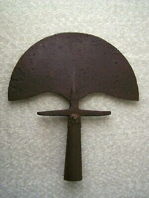 Antique Vintage Cast Iron Lawn Garden Edger Tool Rustic Primitive Decor