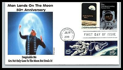 50th Anniversary of the Moon Landing Combo - Despicable Me - Wile Cachet