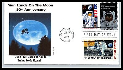 50th Anniversary of the Moon Landing Combo - E.T. - Wile Cachet