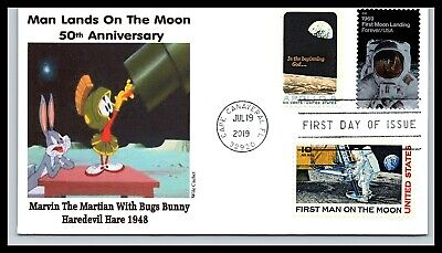 50th Anniversary of the Moon Landing Combo - Marvin Martian - Wile Cachet