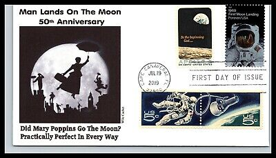 50th Anniversary of the Moon Landing Combo - Mary Poppins - Wile Cachet