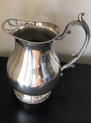 National, Silver on Copper, Pitcher 3007