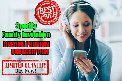 Spotify Premium LIFETIME [Existing Or New Account] Fast Delivery