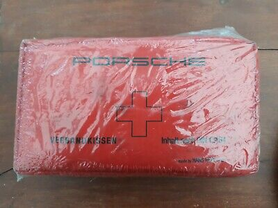 Porsche First Aid Kit in original sealed wrapping.