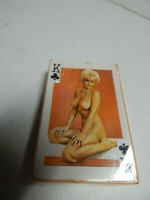 """VINTAGE GAIETY """"54 MODELS"""" # 202 COLOUR PLAYING CARDS nude female"""