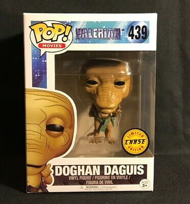 NEW Funko POP! Movies Valerian DOGHAN DAGUIS Vinyl Figure Limited Chase Edition