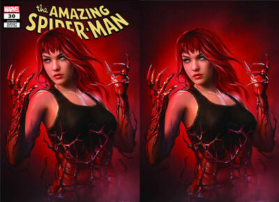 Amazing Spider-Man #30 Maer 2 Pack Variant Set Marvel Comics Mary Jane Carnage