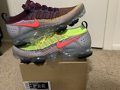 Nike Air Vapormax Flyknit 2 Random Men Size 10.5 What The Multi-Color CJ0066-900
