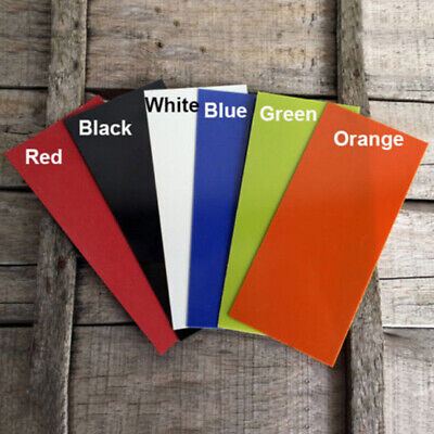 Multi Colors 3 sizes G10 Knife Handle Liners Spacers Material for Knives Making