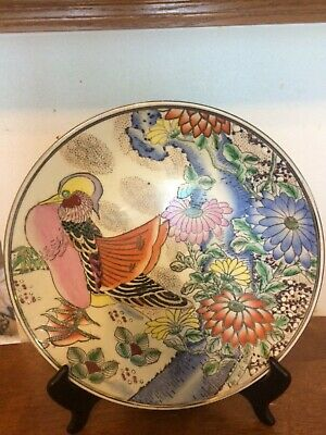 19c  chinese hand painted collectible porcelain plate 10''