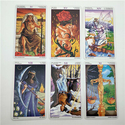 78 Wheel Of The Year Tarot Cards Oracle Dancing With The Seasons Deck Cards Game