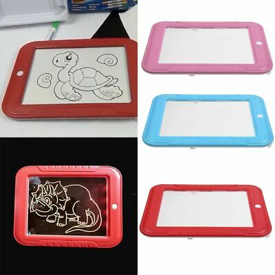 Draw 3D LED Fun & Developing Toy Lighted Drawing Board Magic Draw Educational