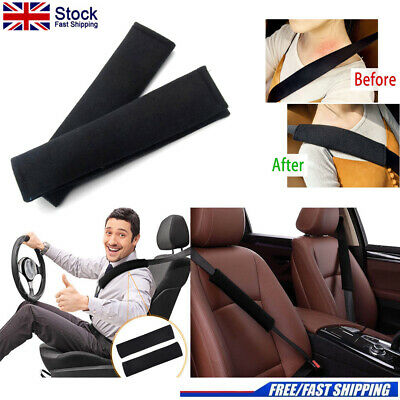Car Seat Belt Pads Harness Safety Shoulder Strap BackPack Cushion Covers Care