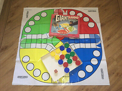Giant Ludo By Spear Games. Vintage set in good condition. Complete.