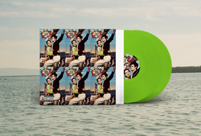 Lana Del Rey Ray Norman NFR Rockwell Rare Color Lime Green Vinyl Rare Exclusive