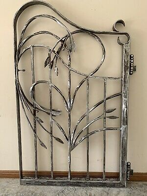Wrought Iron Gates Hand Made By Artist