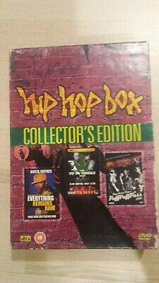 Hip Hop Box 3 DVD Box Set- snoop dog- ice cube , dr dre