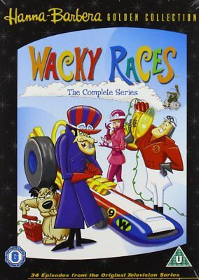 Wacky Races - The Complete Cartoon Series Collection DVD Boxset New R2+R4 Pal
