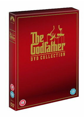 The Godfather Trilogy 1+2+3 Complete Collection DVD Boxset Boxed Set New