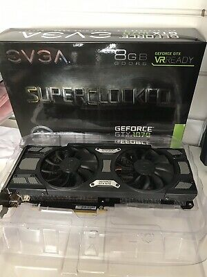 EVGA GeForce GTX 1070 SC GAMING ACX 3.0, 8GB GDDR5,  	08G-P4-5173-KR