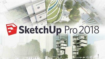 SketchUp Pro 2018 - Official Download Lifetime License - 3D - Fast Delivery