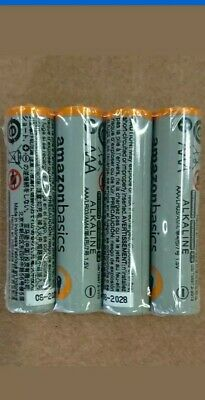 100 AMAZON AAA ALKALINE BATTERIES 1.5V - Bulk Packaging (Exp: 2028)
