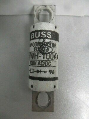 Nice Bussmann Semiconductor Fuse FWH-100A 100 Amp 500 Volt