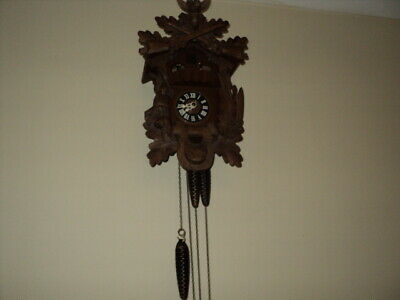 Vintage Cuckoo Black Forest ? Hunter Clock Is Working but Not striking?