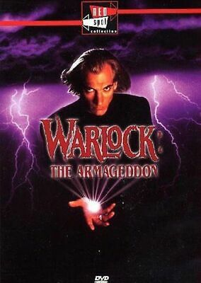 Warlock: l'angelo dell'Apocalisse (1993) DVD NUOVO The armageddon
