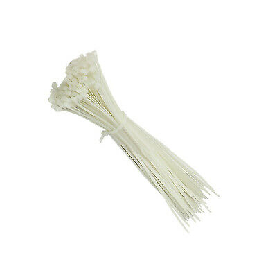 White 300mm x 4.8mm Cable Ties (100s)