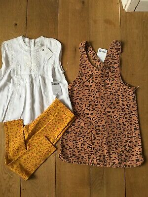 Next F&F Girls Christmas Clothes Brand New With Tags Age 5-6 years