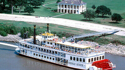New Orleans Paddlewheeler Creole Queen Boat - Historic Battlefield Cruise for 4
