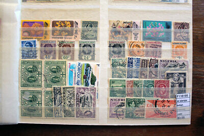 Lot Stamps British Colonies Used (F116195)