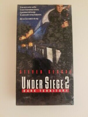 NEW SEALED Under Siege 2 - Dark Territory VHS 1996 Steven Seagal FREE SHIPPING