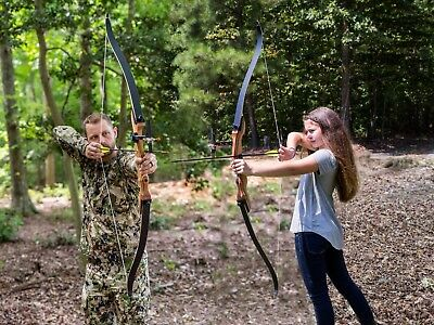 "Takedown Recurve Bow 62"" Archery Hunting bow 30 lb Right Handed - Adults & Teens"