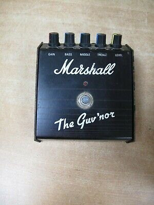 Marshall The Guv'nor Overdrive Guitar Effects Pedals USED