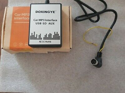 DOXINGYE Car MP3 Interface USB SD AUX Compatible Véhicules VOLVO