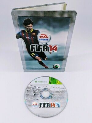 Microsoft Xbox 360 Fifa 14 Limited Edition Steelbook with Magnet PAL Free Post